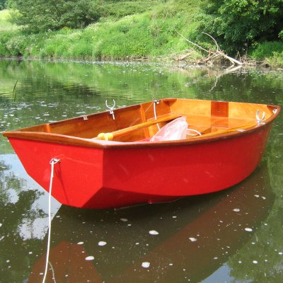 Free pram dinghy plan