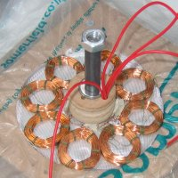 Wind Turbine Single Phase Axial Flux Alternator